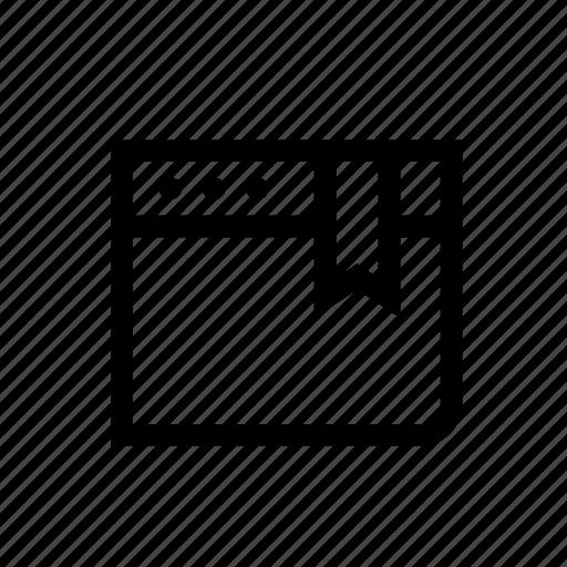 bookmark, bookmark website, browser, internet, network, web, website icon