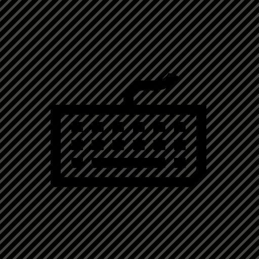 computer keyboard, design, hardware, input, keyboard, type, web icon