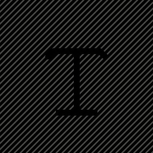 design, t, text, type, typography, web, write icon