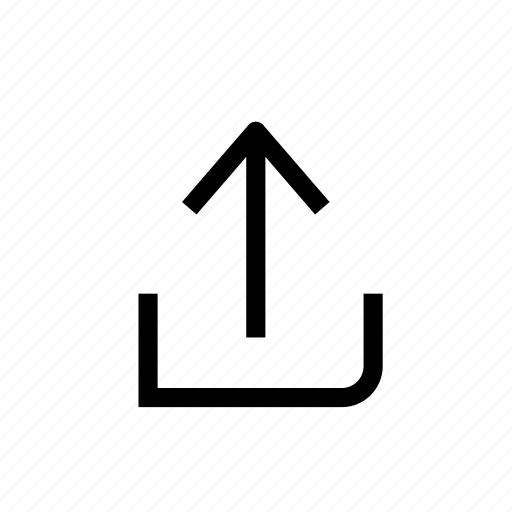 arrow, design, move, next, up, upload, web icon