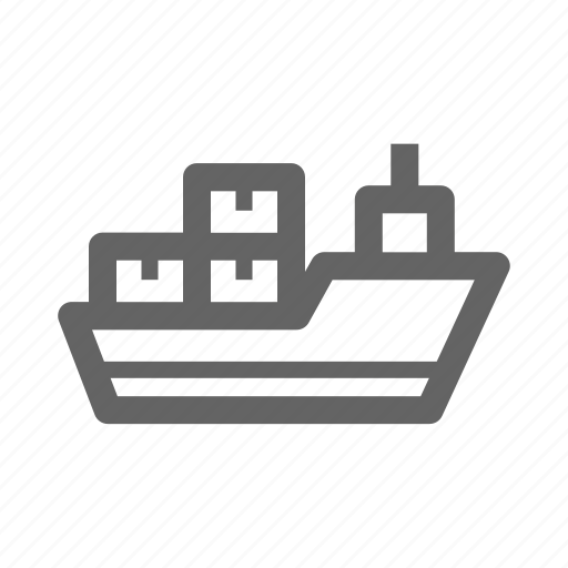 business, delivery, logistic, package, shipping, transportation icon