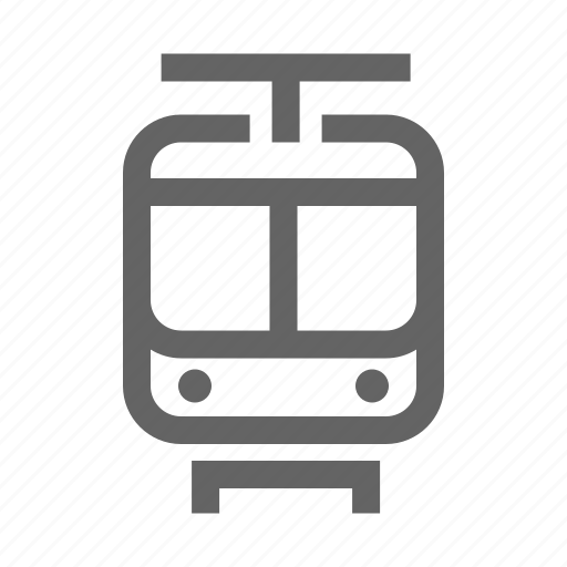 railroad, rialway, route, train, transport, vahicle icon