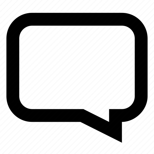 bubble, chat, comment, message, right icon