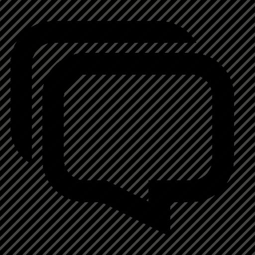 bubbles, chat, comments, communication, message, messages, talk icon