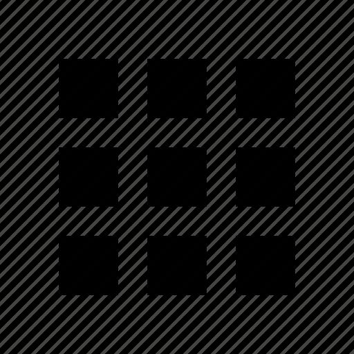 blocks, menu, navigation, sidemenu, squares, thumbnail, tiles icon