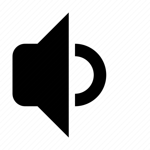 audio, media, medium, music, sound, speaker, volume icon