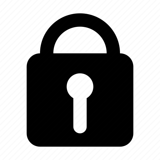 closed, lock, private, protect, protection, safe, secure icon
