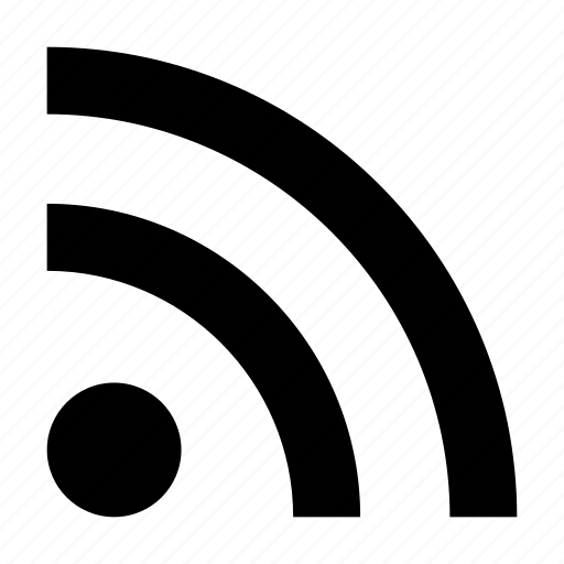 blog, feed, information, news, rss, subscribe, wireless icon
