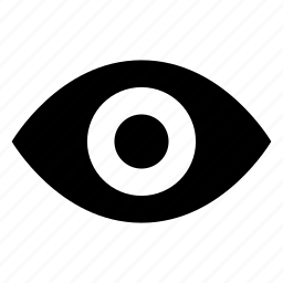 explore, eye, look, optical, retina, view, watch icon