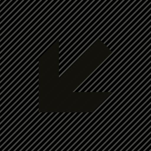 beveled, medium icon