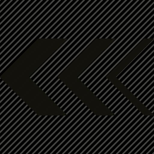 chevron, double, mix icon