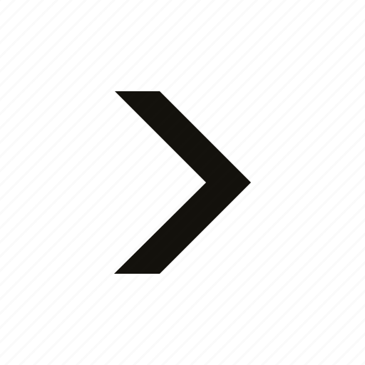 big, chevron, medium icon