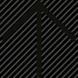 big, linear icon