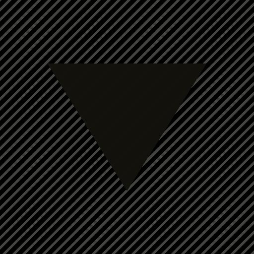 big, triangle icon