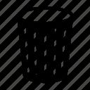 bin, garbage icon
