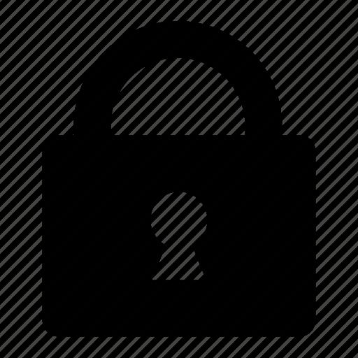 closed, lock, secure icon