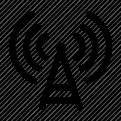 broadcast, podcast icon