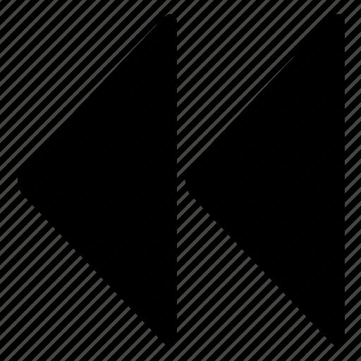 backwards, rewind icon