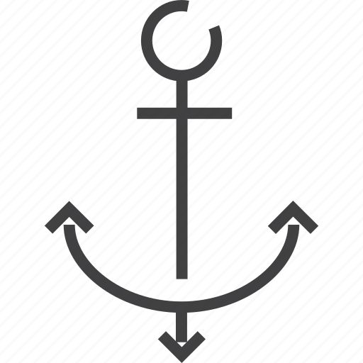 anchor, payment, plane, shipping, transportation, truck icon