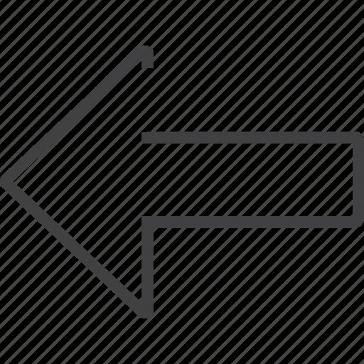 arrow, down, forward, next, up icon