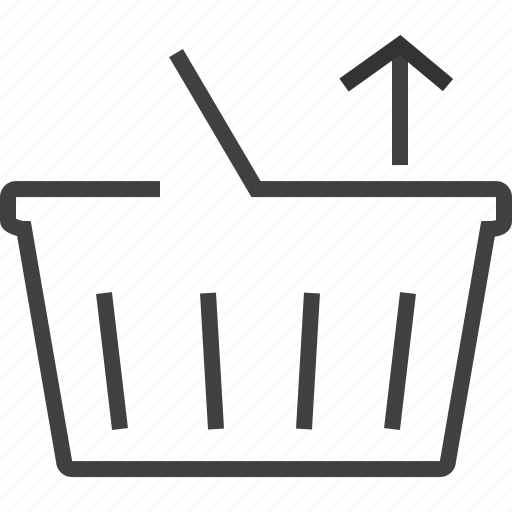 basket, sell, shipping, webshop icon