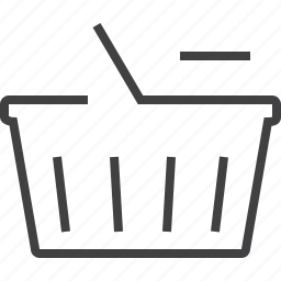 basket, buy, cart, ecommerce, online, sale, sell, shipping, shop, shopping, webshop icon
