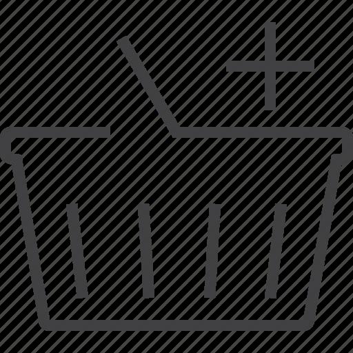 basket, cart, finance, financial, online, payment, sale, sell, shop, webshop icon