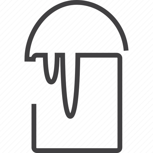 art, bucket, design, draw, edit, fill, graphic icon