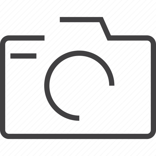 Camera film image movie picture player icon for Camera minimal