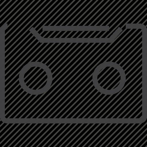 cattsete, radio icon