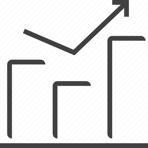 analytics, business, buy, chart, diagram, ecommerce, finance, financial, statistics icon