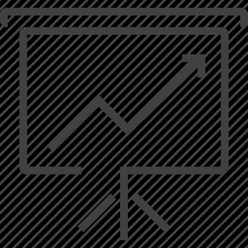 analytics, business, chart, diagram, price icon