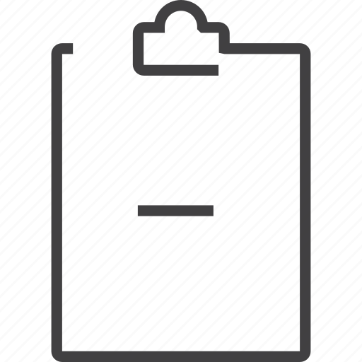 business, chart, clipboard, file, paper, report icon