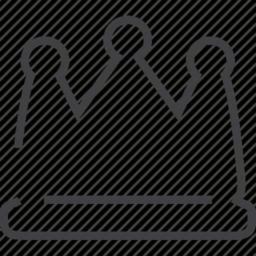 crown, game, power, prince, princess icon