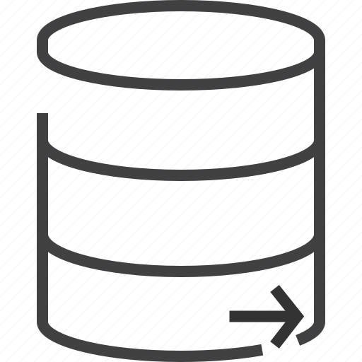 data, database, left, network, right icon