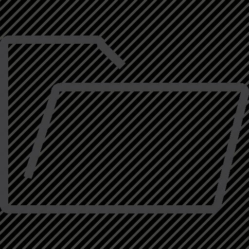 arrow, file, files, folder, music, open icon