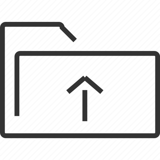 add, documents, folder, new, up, upload icon