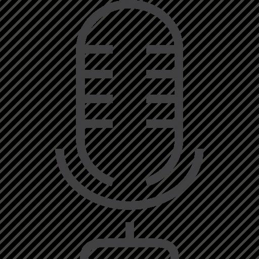 audio, camera, communication, input, microphone, radio, recording icon