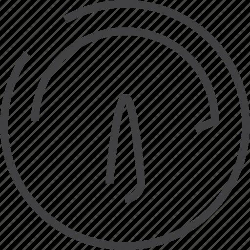bandwidth, car, clock, mêtr, speed, speedometer, sport icon