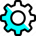 control, gear, setting, settings, system, tool icon