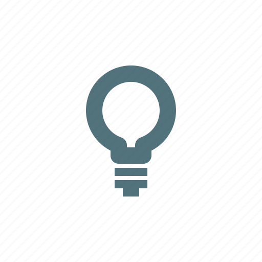 Bulb, idea, think, creative, lamp icon - Download on Iconfinder