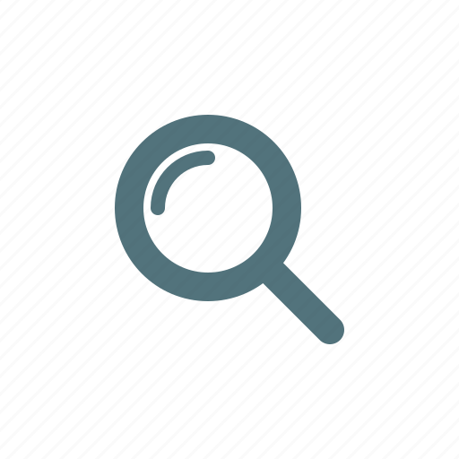 find, loupe, search, zoom icon