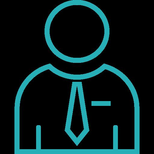 analysis, business, finance, man, money, office, work icon