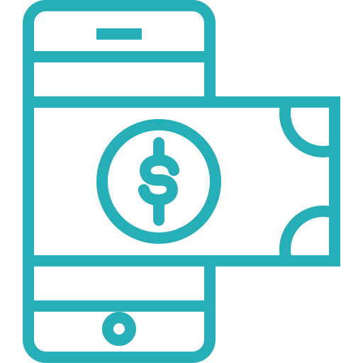 analysis, banking, business, finance, mobile, money, office icon