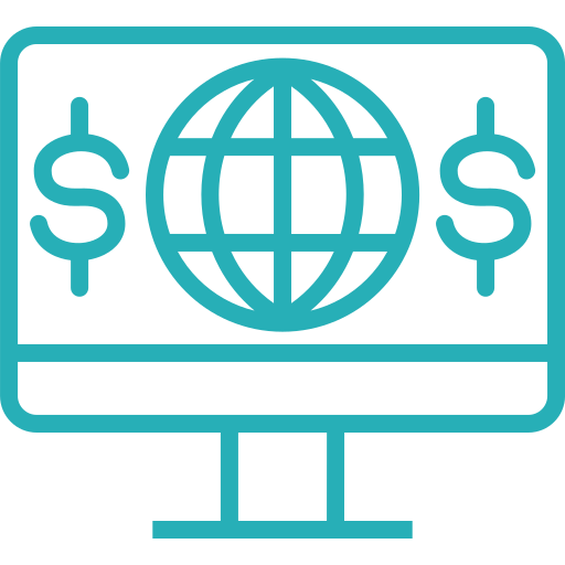 banking, business, finance, money, office, online, seo icon