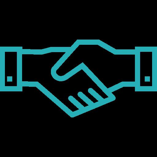 Partnership, analysis, business, hand shake, office, seo, work icon - Free download