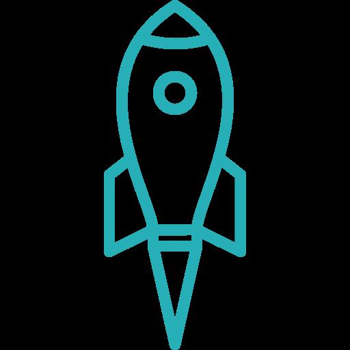 analysis, business, finance, money, office, rocket, work icon