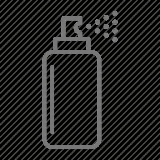 aerosol, bottle, clean, solution, spray icon