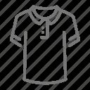 clothes, clothing, polo, shirt icon
