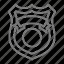detective, badge, spy, police